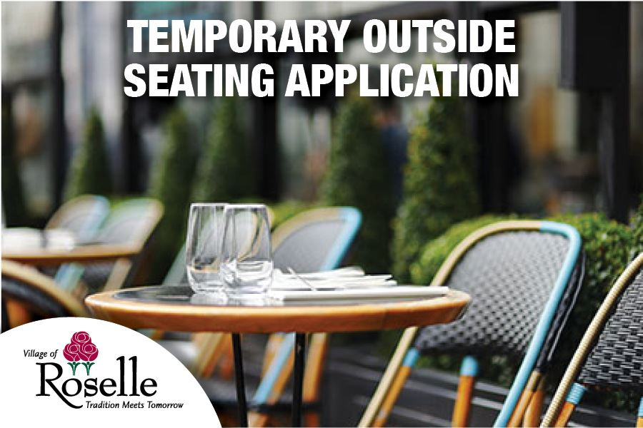 Outside Seating Application